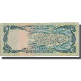 Banknote, United Arab Emirates, 10 Dirhams, 1973, KM:3a, VF(20-25)