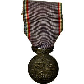 France, Académie du dévouement national, Medal, Very Good Quality, Bottée
