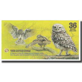 Banknote, Brazil, Dollar, 2017, 2017-12, ATLANTIC FOREST 36 DOLLARS, UNC(65-70)