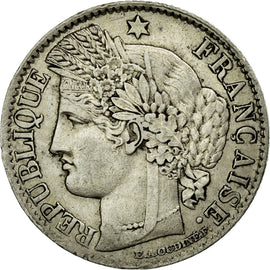 Coin, France, Cérès, 50 Centimes, 1871, Bordeaux, EF(40-45), Silver, KM:834.2