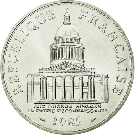 Coin, France, Panthéon, 100 Francs, 1985, Paris, MS(65-70), Silver, Gadoury:898