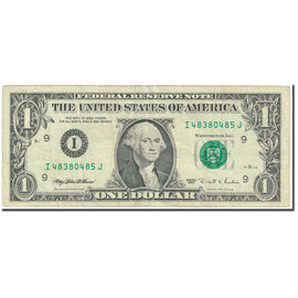 Banknote, United States, One Dollar, 1995, Undated (1995), KM:4249, VF(20-25)