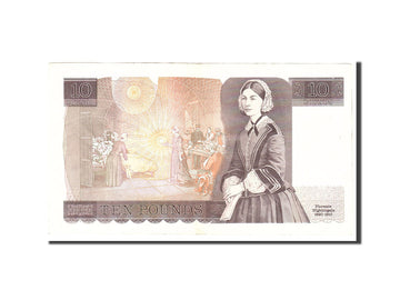 Banknote, Great Britain, 10 Pounds, 1975, Undated, KM:379c, EF(40-45)