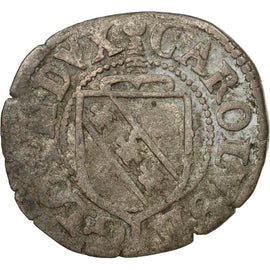 Coin, France, 1/2 Sol, Nancy, VF(20-25), Billon, Boudeau:1539