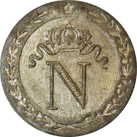 Coin, France, Napoleon I, 10 Centimes, 1808, Paris, AU(55-58), Billon