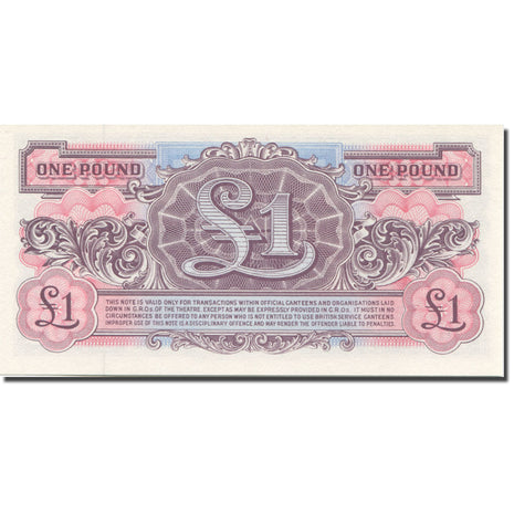 Banknote, Great Britain, 1 Pound, Undated (1948), KM:M22a, UNC(65-70)