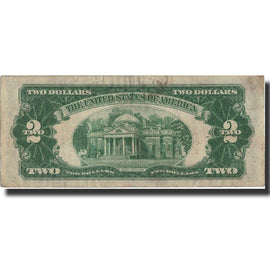 Banknote, United States, Two Dollars, 1928, 1928, KM:1619, VF(20-25)