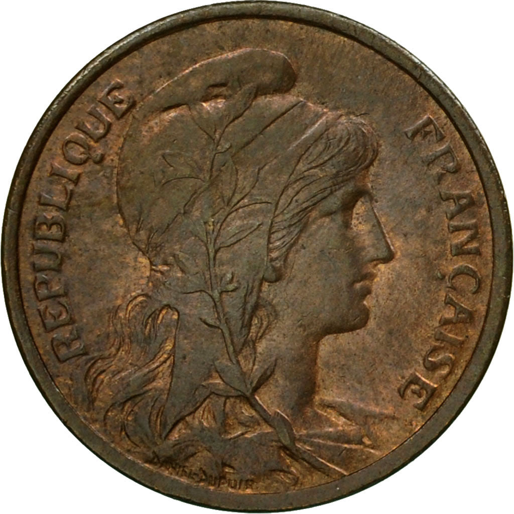 Coin, France, Dupuis, Centime, 1902, Paris, AU(55-58), Bronze, KM:840