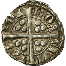 Coin, Great Britain, Edward I, Penny, 1280, London, EF(40-45), Silver
