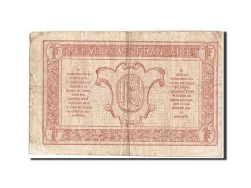 Banknote, France, 1 Franc, 1917-1919 Army Treasury, 1917, 1917, EF(40-45)