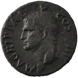 Agrippa, As, EF(40-45), Copper, Cohen #3, 10.20