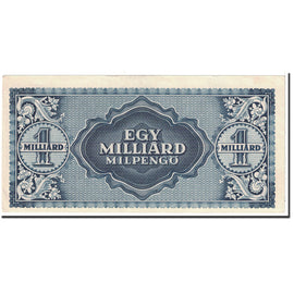Banknote, Hungary, 1 Milliard Milpengö, 1946, 1946-06-03, KM:131, UNC(63)