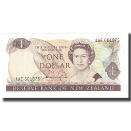 Banknote, New Zealand, 1 Dollar, KM:169a, UNC(65-70)