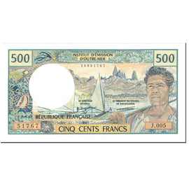 Banknote, French Pacific Territories, 500 Francs, 1992, Undated (1992), KM:1a