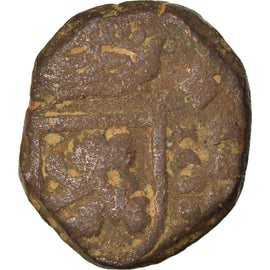 Coin, Spain, Charles II, 2 Maravedis, 1686, VF(20-25), Copper