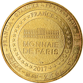France, Token, Laon - Chemin des Dames, 2019, MDP, MS(63), Cupro-nickel