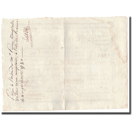 France, Traite, Colonies, Isle de France, 2213 Livres Tournois, 1780, AU(55-58)