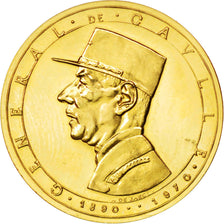 FRANCE, French Fifth Republic, Medal, 1972, MS(63), Gold, 3.54