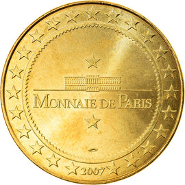 France, Token, Touristic token, Carrouges - Château, Arts & Culture, 2007, MDP