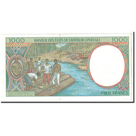 Banknote, Central African States, 1000 Francs, 1997, Undated, KM:402Ld, UNC(64)