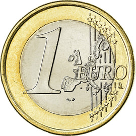 IRELAND REPUBLIC, Euro, 2006, AU(55-58), Bi-Metallic, KM:38