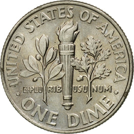 Coin, United States, Dime, 2014, U.S. Mint, AU(55-58), Copper-Nickel Clad Copper