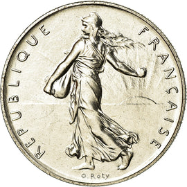 Coin, France, Semeuse, Franc, 1983, Paris, MS(65-70), Nickel, KM:925.1