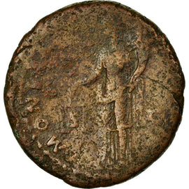 Coin, Domitia, As, VF(30-35), Copper, Cohen:334