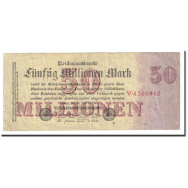 Banknote, Germany, 50 Millionen Mark, 1923-07-25, KM:98a, VF(20-25)
