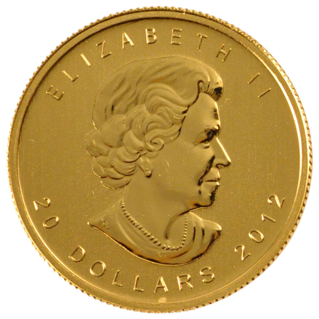 CANADA, 20 Dollars, 2012, Royal Canadian Mint, KM #1283, MS(65-70), Gold, 25,...