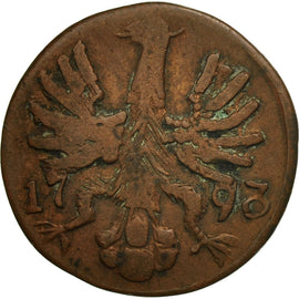 Coin, German States, AACHEN, 12 Heller, 1793, Berlin, F(12-15), Copper, KM:51