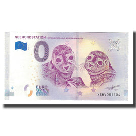 Germany, Tourist Banknote - 0 Euro, Germany - Norden - Seehundstation -