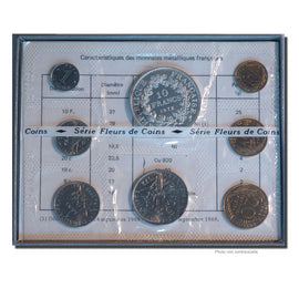 Coin, France, Set, 1972, Paris, MS(65-70), Gadoury:page 287
