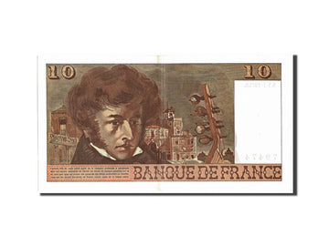 Banknote, France, 10 Francs, 10 F 1972-1978 ''Berlioz'', 1975, 1975-07-03