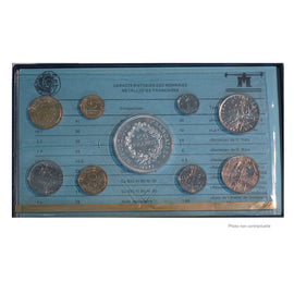 Coin, France, Set, 1978, Paris, MS(65-70), Gadoury:page 287