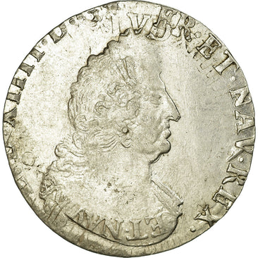Coin, France, 1/2 Ecu, EF(40-45), Silver, Gadoury:194a