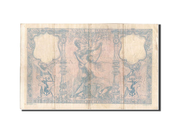 France, 100 Francs, 100 F 1888-1909 ''Bleu et Rose'', 1889, KM:65a, 1989-04-0...