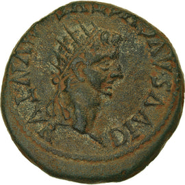 Coin, Spain, Tiberius, As, 14-37 AD, Turiaso, EF(40-45), Bronze, RPC:423