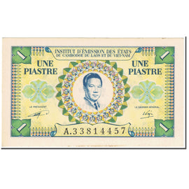Banknote, FRENCH INDO-CHINA, 1 Piastre = 1 Dong, 1953, Undated (1953), KM:104