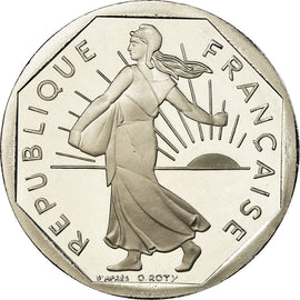 Coin, France, Semeuse, 2 Francs, 2001, BE, MS(65-70), Nickel, KM:942.2