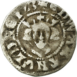 Coin, Great Britain, Edward I, Penny, Canterbury, VF(30-35), Silver