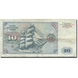 Banknote, GERMANY - FEDERAL REPUBLIC, 10 Deutsche Mark, 1977, 1977-06-01