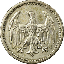 Coin, GERMANY, WEIMAR REPUBLIC, 3 Mark, 1924, Berlin, EF(40-45), Silver, KM:43