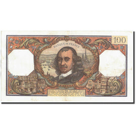 Banknote, France, 100 Francs, 100 F 1964-1979 ''Corneille'', 1968, 1968-09-05