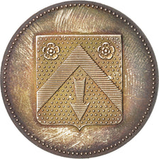 France, Bank, Token, 1976, MS(63), Silver, 34, 15.00