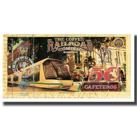 Banknote, Colombia, Tourist Banknote, 50 CAFETEROS THE COFFE RAILROAD COMPANY