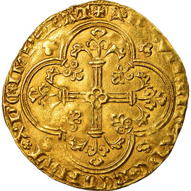 Coin, France, Jean II le Bon, Franc à cheval, EF(40-45), Gold, Duplessy:294