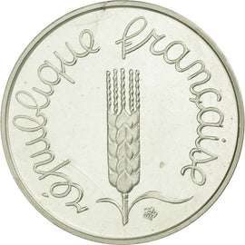 Coin, France, Centime, 1975, MS(65-70), Silver, KM:P513, Gadoury:4.P2
