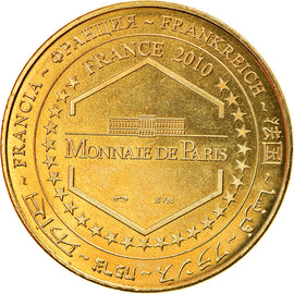 France, Token, Touristic token, Clermont-Ferrand - ASM 2010 - Champion de