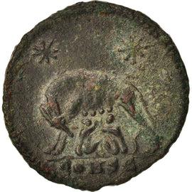 City Commemoratives, Follis, Constantinople, EF(40-45), Bronze, RIC:379